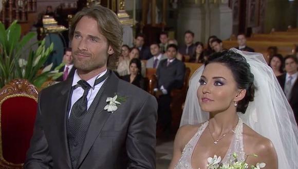 """Los actores se conocieron grabando """"Teresa"""", aunque en esta época tenían otras parejas (Foto: Televisa)"""