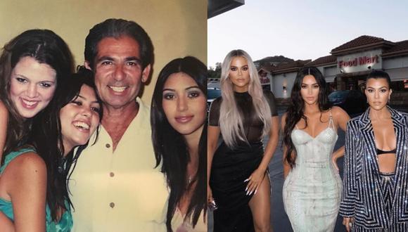 Robert Kardashian falleció en el 2003 por cáncer de esófago cuando Kourtney tenía 24, Kim 22 y Khloé 19 años.