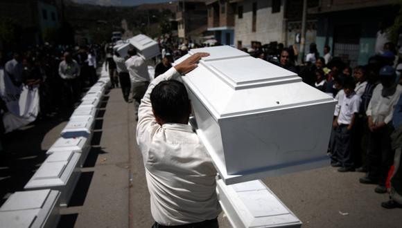Hay más de 19 mil personas cuyos cuerpos aún no han sido ubicados o identificados tras los años del terrorismo. (Foto: Fernando Fujimoto / El Comercio)