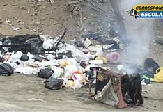 El dramático aumento de residuos sólidos domésticos en el Callao