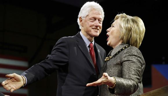 Clinton ya tiene trabajo para su esposo si gana la presidencia