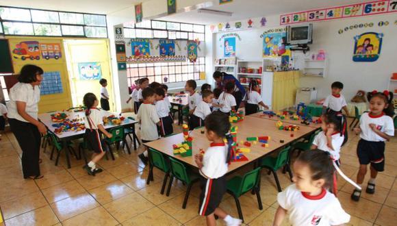 EDUCACIÓN INICIAL: (Foto: El Comercio)