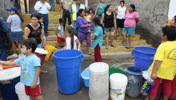 Sedapal: usuarios reclaman que aún no tienen agua