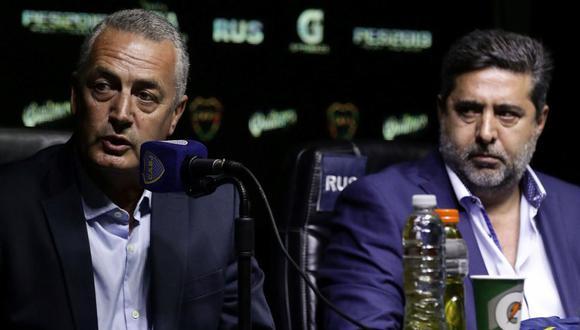 """""""Es un desafío estar a la altura de Boca Juniors. Tuve que trabajar 25 años para llegar a un lugar como este"""", indicó Gustavo Alfaro. (Foto: AFP)"""