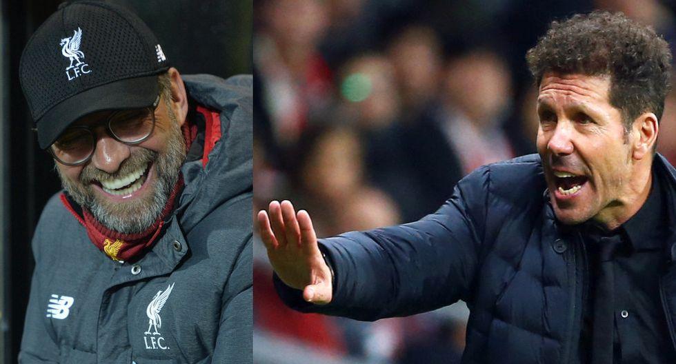 Klopp llegó al Liverpool en el 2015, Simeone al Atlético en el 2011. (Foto: 2011)