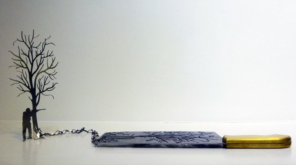 Arte afilado: Mira estos cuchillos hermosamente tallados - 4