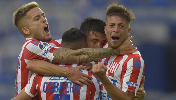 Unión de Santa Fe clasificó a los octavos de final de la Copa Sudamericana 2020 (Foto: Twitter Club Atlético Unión)