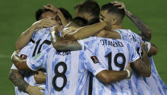 Argentina derrota 3-1 a Venezuela en Caracas y espera por Brasil en la próxima fecha (Foto: AFP).