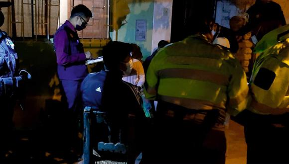 La Policía llevó a cabo una redada en la zona para tratar de encontrar a los criminales. Sin embargo, no tuvieron buenos resultados. (Foto: GEC)