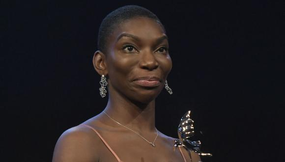"""Michaella Coel es la segunda integrante confirmada del elenco para """"Black Panther: Wakanda Forever"""". (Foto: Stefanie Loos / AFP)"""