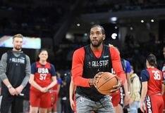 Kawhi Leonard estrenó zapatillas exclusivas en el NBA All Star Game 2020 | FOTOS