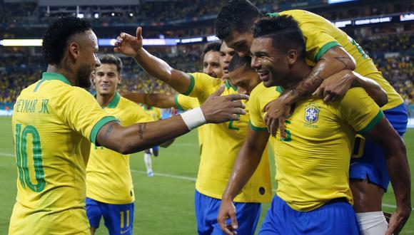 Brasil chocará con Senegal en un amistoso FIFA. Conoce los horarios y canales de todos los partidos de hoy, jueves 10 de octubre. (AFP)