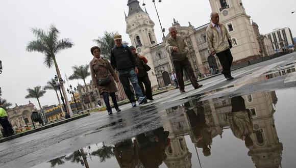 En Lima Oeste, la temperatura máxima llegaría a 17°C, mientras que la mínima sería de 13°C. (Foto: Andina)