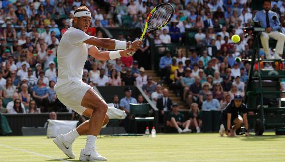 El español venció al griego en el torneo británico. (Foto: AFP)