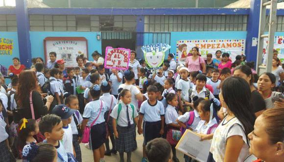Suspenden clases en colegios de Lima Metropolitana y Callao