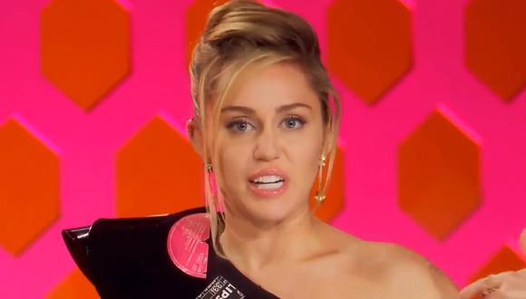 """Miley Cyrus hará su debut como jueza en """"RuPaul's Drag Race"""" (Foto: Captura de pantalla)"""