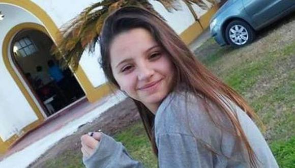 Úrsula Bahillo tenía 18 años cuando fue asesinado por su exnovio, el policía  Matías Ezequiel Martínez.