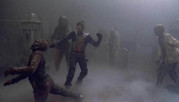 """""""The Walking Dead"""" 9x08 mostró a Jesús (Tom Payne) en su pelea más sorprendente. Foto: AMC."""