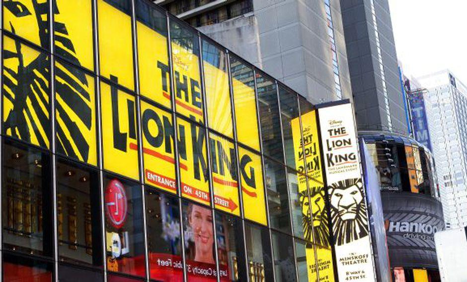 """""""El rey león"""": el espectáculo más taquillero de la historia"""