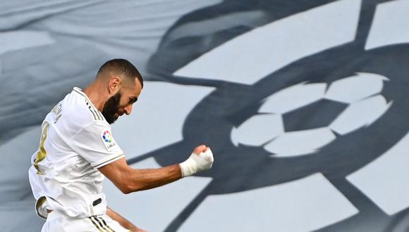 Real Madrid vs. Villarreal: Karim Benzema sentenció el título liguero con el 2-0 desde el punto penal   Foto: AFP