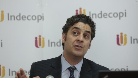 Ivo Gagliuffi es el actual presidente del Indecopi. (Foto: GEC)