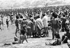 Un día en Agua Dulce en 1976: lo que generaba un heladero en la playa más visitada del Perú