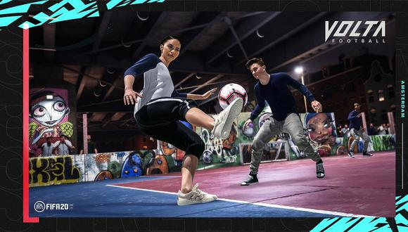 FIFA 20 saldrá el próximo 27 de setiembre y contará con un modo fútbol callejero. (Captura de pantalla)