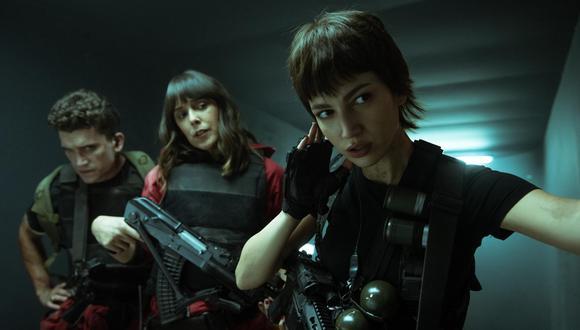 En septiembre, llega a Netflix una nueva temporada de la popular series española. La pandilla lleva ya 100 horas en el Banco de España, y el Profesor corre peligro. Lo que es peor aún, se les acerca un nuevo enemigo: el ejército. (Foto: Difusión)