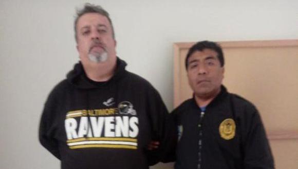El exfuncionario del Gobierno Regional del Callao, Víctor Suelpres, fue capturado este miércoles. (Foto: Difusión)