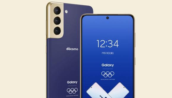 Conoce todas las características del Samsung Galaxy S21 Olympic Games Edition. (Foto: Samsung)
