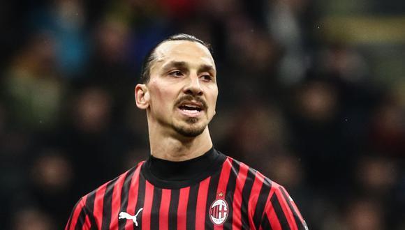 Zlatan Ibrahimovic llegó al AC Milan proveniente de Los Angeles Galaxy de Estados Unidos. (Foto: AFP)