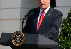"""Donald Trump: Diálogo con Canadá sobre nuevo TLCAN va """"muy bien"""""""