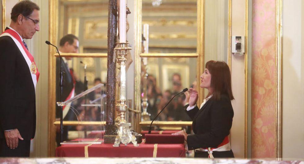 María Jara Risco también se ha desempeñado como superintendenta de la Sutrán en el gobierno de Ollanta Humala. (Foto: Lino Chipana)