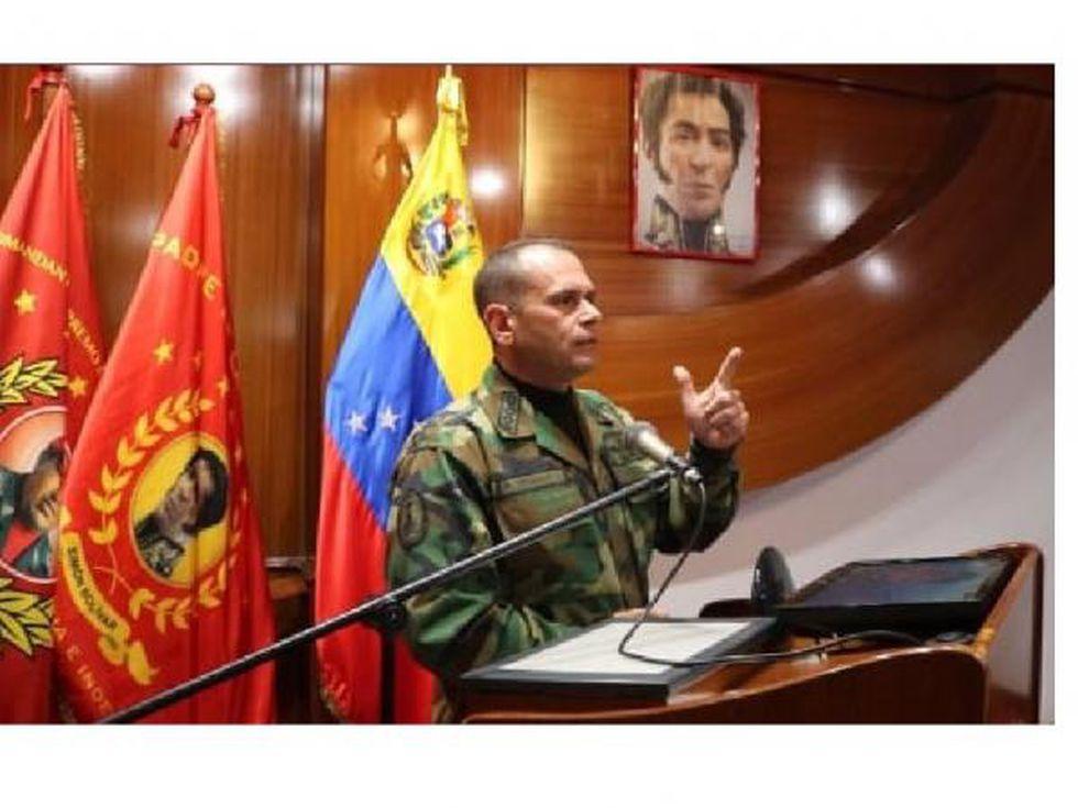 Remigio Ceballos Ichaso, jefe del Comando Estratégico Operacional. (Foto: @ceballosichaso).