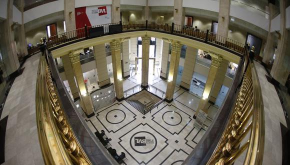 El índice S&P/BVL Perú General avanzó un 1.34%. (Foto: GEC)