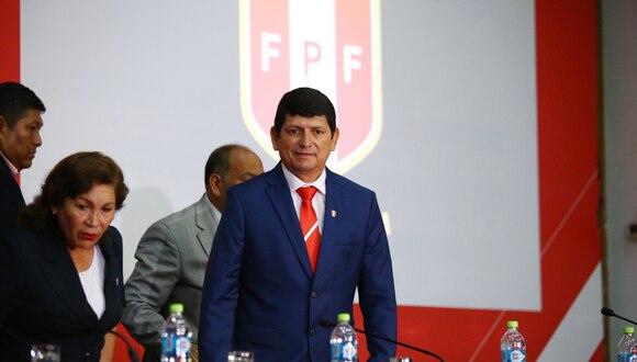 Agustín Lozano recibió sanción económica de parte de Conmebol por caso de reventa de entradas | Foto: Jesús Saucedo/GEC
