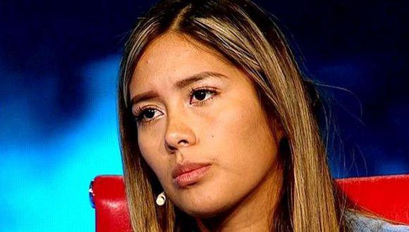 """Claudia Meza, Miss Trujillo se sentó en el sillón rojo de El Valor de la Verdad y contó su versión de los hechos sobre la """"fiesta del terror en Asia"""". (Foto: Latina)"""