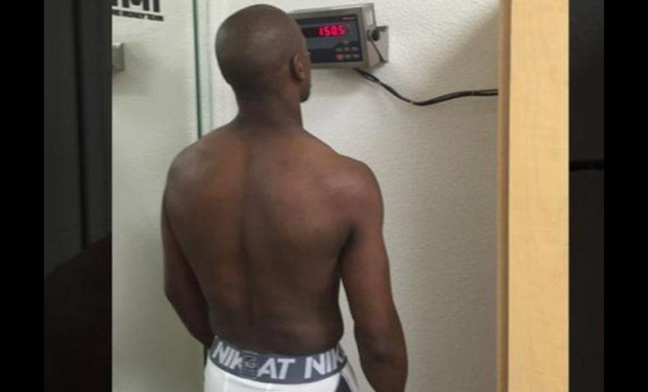 Mayweather necesita perder peso para pelear contra Pacquiao