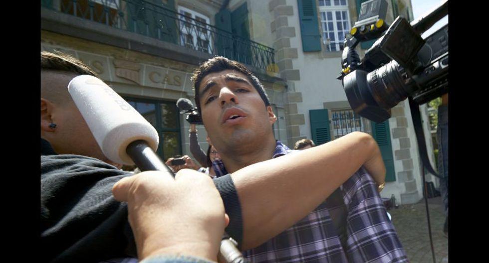 Suárez declaró cinco horas ante el TAS para rebajar su sanción - 8