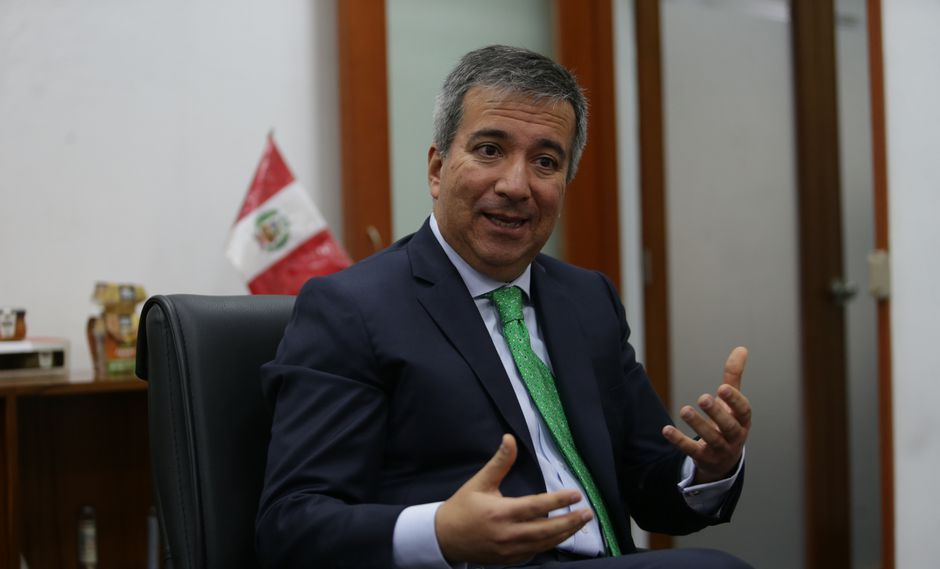 Raúl Pérez-Reyes, ministro de la Producción conversó con El Comercio