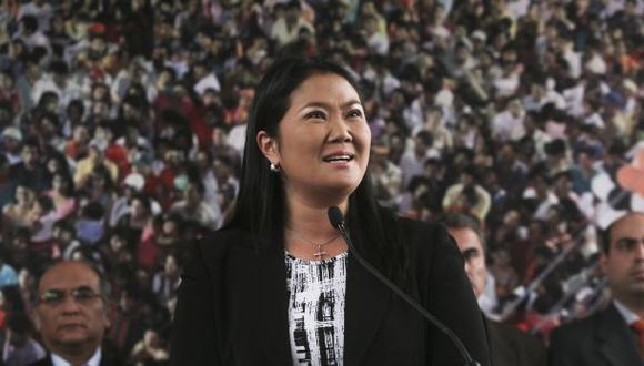"""Keiko Fujimori: """"La ciudadanía ya censuró al ministro Figallo"""""""