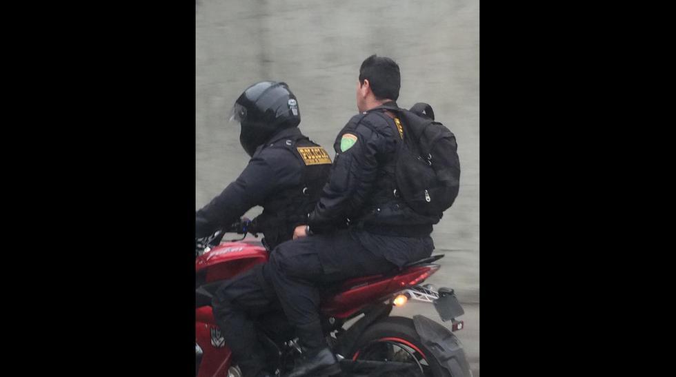 Policías en moto y sin casco: ¿quién vigila a los vigilantes? - 1