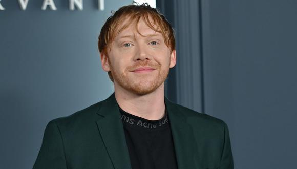 """El actor Rupert Grint es recordado por su papel como Ron Weasley en """"Harry Potter"""" (Foto: AFP)"""
