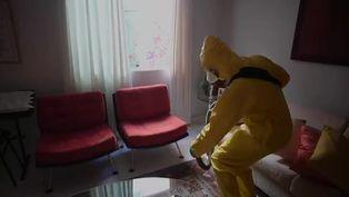 Coronavirus: desinfección a domicilio en Brasil