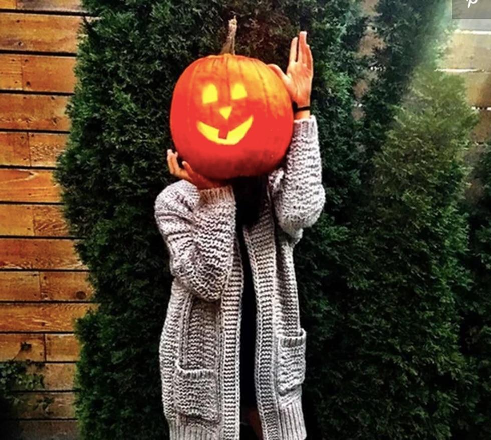 Meghan disfrutaba las celebraciones por Halloween, una fecha prohibida en Gran Bretaña (Foto: Instagram)