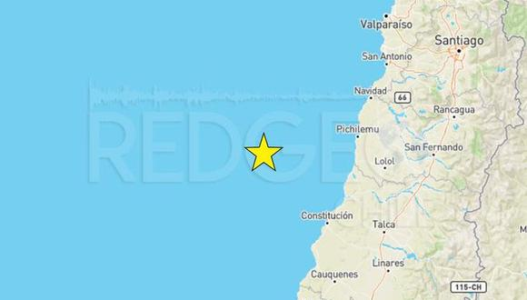 Sismo de magnitud 6,2 sacude la zona central de Chile.