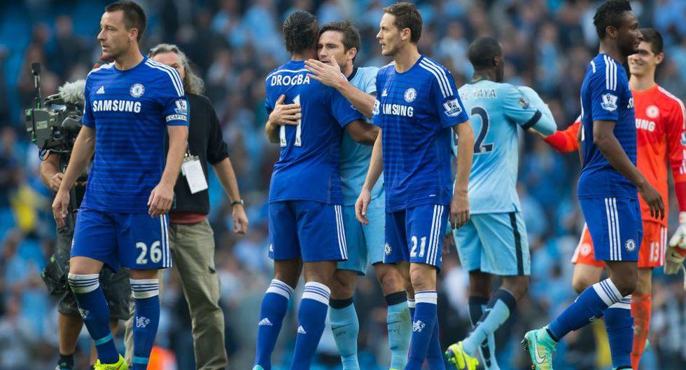 Frank Lampard y su tristeza tras anotarle al Chelsea - 7