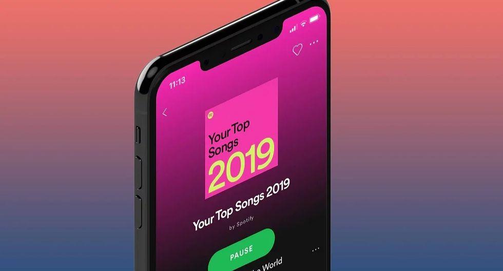 De esta forma podrás conocer cuáles son las canciones más escuchadas en el mundo. (Foto: Spotify)