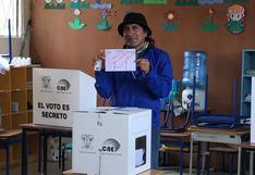 Elecciones Ecuador 2021: Voto nulo sin precedentes con 38% escrutado apunta a factor Yaku Pérez