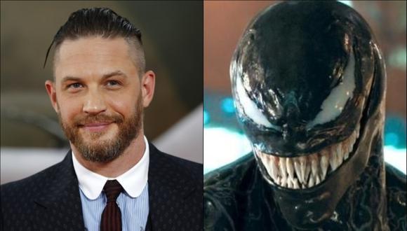 El actor interpretará a Venom en la película del simbionte. (Foto: Composición/AFP/Sony)
